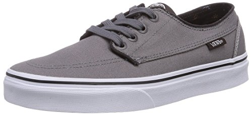 1b8f2ac07e8d Vans Brigata Canvas Steel Gray Unisex Adult Sneakers Size 6.5 Mens 8 Womens  - Buy Online in Oman.