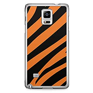 Tiger Samsung Note 4 Transparent Edge Case - Animal Prints Collection