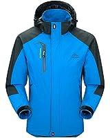 Men Hooded Waterproof Jacket-Diamond Candy Casual Lightweight Rain Softshell Raincoat Outdoor Sportswear