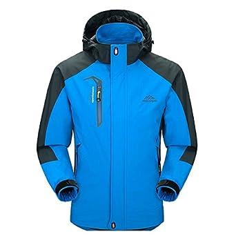 Amazon.com: Men Casual Hooded Rain Jacket-Diamond Candy ...