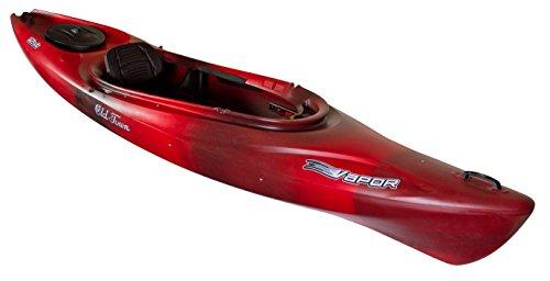Old Town Canoes & Kayaks Vapor 12XT Recreational Kayak, Black Cherry - 12' Black Cherry