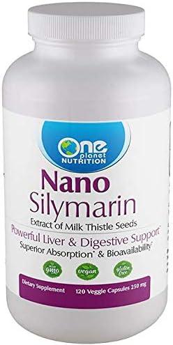 Nano Silymarin - 120 Caps - 250 mg