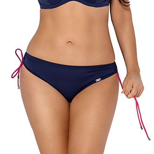 AVA Women's Smooth Bikini Briefs SF-92/2, Dark Blue,8