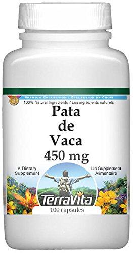 Pata de Vaca - 450 mg (100 Capsules, ZIN: 521082) - 3 Pack by TerraVita