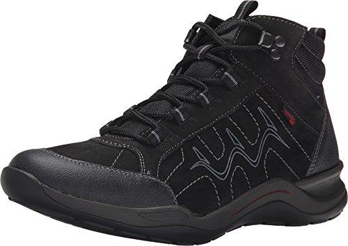 Rieker Women's R5470 Black Jura/Black Talamon/Black Airmesh Sneaker 42 (US Women's 10) M