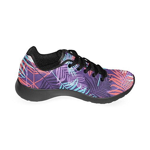 Zapatillas Mujer de Zenzzle Negro Lona Running de Para Negro 7Ydq1w4xqC