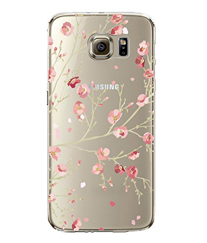 Samsung Galaxy S7 Edge Case Qissy Soft TPU Case Crystal Clear Transparent Slim Anti Slip Case Back Protector Cover Shockproof Transparent . (2)