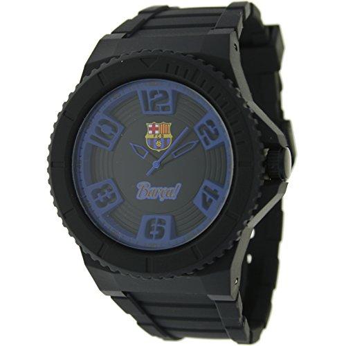 BARCELONA C.F. - Reloj analógico para hombre Barça! 7001128-10ATM - Negro y azul: Amazon.es: Relojes