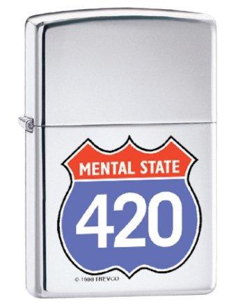 Zippo Lighter Mental State by Zippo