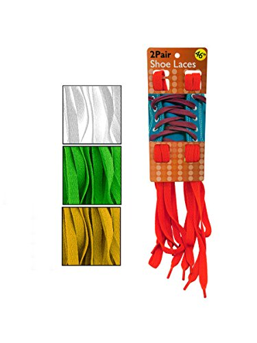 Colorful Shoelaces, Case of 10 by bulk buys