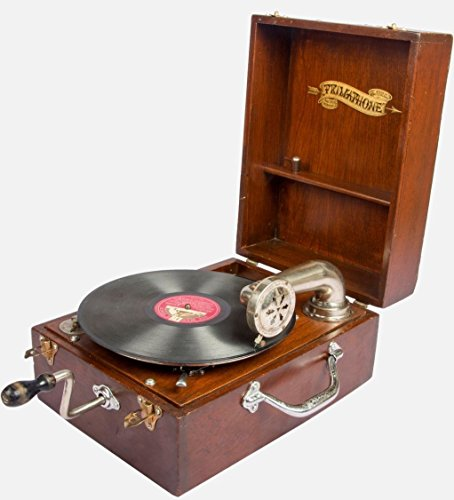 Global Art WorldPrimaphone Bombay Table Decca Swiss Made Décor Gramophone Phonograph HB 036