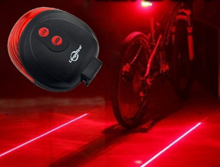 LingsFire Laser Cycling Bicycle Safety