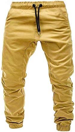 beautyjourney Pantalones de chándal para Hombre Pantalones de ...