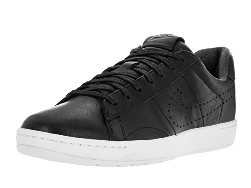 Nike Men's Tennis Classic Ultra Lthr Black/Black/White Casual Shoe 11 Men US (Classic Nike Sneakers compare prices)