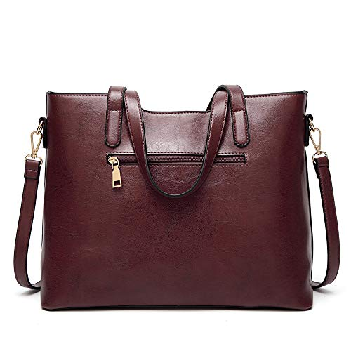 Bolsos shoulder capacity handbag single Messenger large XNQXW Women's bag ladies fashion brown bandolera simple bag UdBHFxq