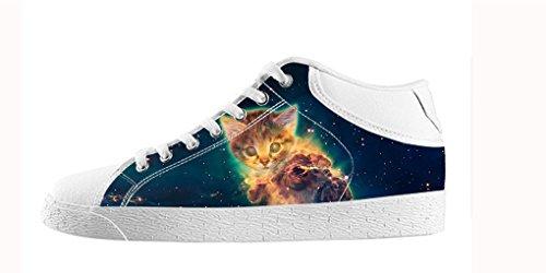 Dalliy Galaxie Katze Galaxy Cat Mens Canvas shoes Schuhe Footwear Sneakers shoes Schuhe B