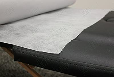 "Skin Act® Jumbo Size Nonwoven Disposable Bedsheet (31"" Wide X 330 Feet Long) Perforated Massage Table Sheet, Facial, Wax Chair Cover Sheet"