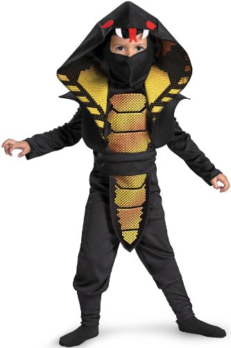 Cobra Ninja Toddler Costume, 3T-4T