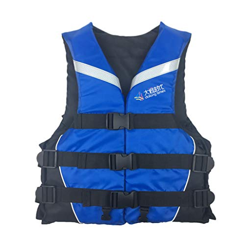 Dmdzw Life Jackets for Adults Life Jacket Aid Vest Kayak Ski Buoyancy Fishing Boat Watersport Youth Mens Life Vests