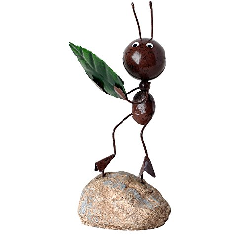 Household Decoration (Dragonpad? Creative furniture, wrought iron ants furnishing articles, home decorations household small ornament ,lovely ant holding a)
