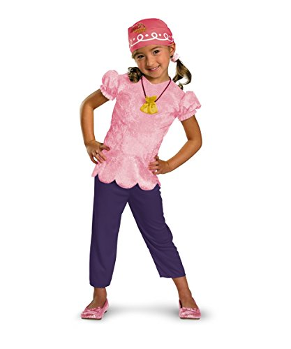 Disguise Jake and the Never Land Pirates Izzy Girl Costume Toddler Size 2T
