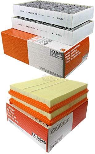 MAHLE Inspektions Set Inspektionspaket Innenraumfilter Luftfilter