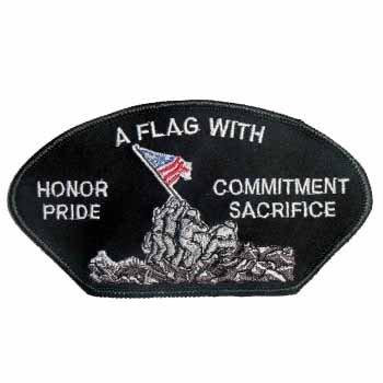Iwo Jima Shipshape Logo Embroidered Iron on Sew on Patch