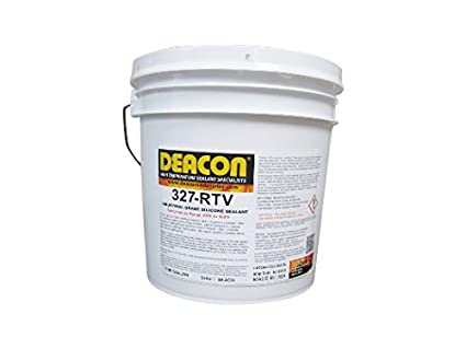 Deacon 327-RTV Gallon High Temperature Rubber Sealant, -60 Degree F