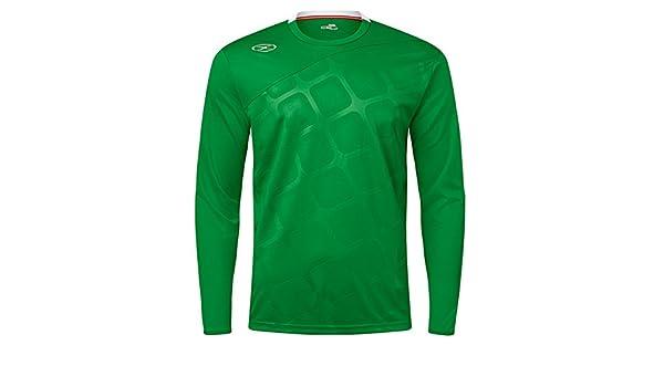 930729f10f5 Amazon.com: Xara Instigator Goal Keeper Jersey - Green - Youth Medium:  Clothing
