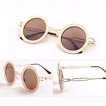 Sunyan Macho y hembra circular de nuevo tipo de gafas de sol ...