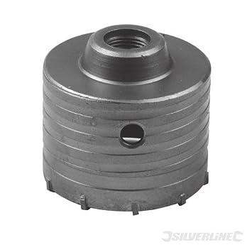 Silverline 585485 - Corona perforadora de TCT (115 mm): Amazon.es: Bricolaje y herramientas