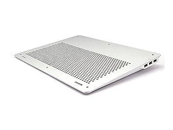 """Zalman ZM-NC2000NT - Ventilador para ordenador portátil hasta 17"""", color plateado"""