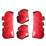 MAYiT Horse Tendon Boots (4 pcs - Front & Hind), PU