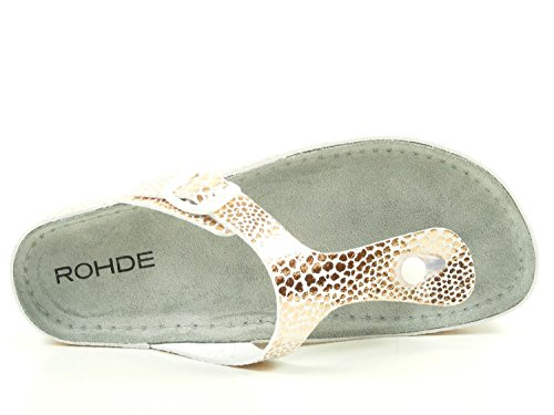 Tongs Rohde Rose 5803 Riesa femme HHE4q