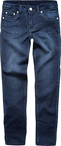 Levi's Big Girls' 710 Super Skinny Fit Soft Jeans, Dark Indigo, 16 by Levi's