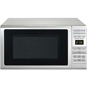 Hamilton Beach 0.7-cu ft Microwave Oven, Black (White)