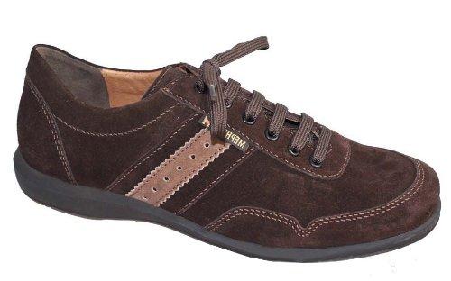 Mephisto-Chaussure Lacet-BONITO Marron velour 3651-Homme