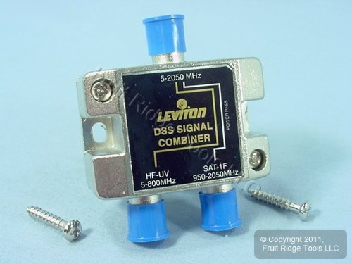 Leviton 630-40856DSS Pro Grade DSS Video Signal Combiner by Leviton