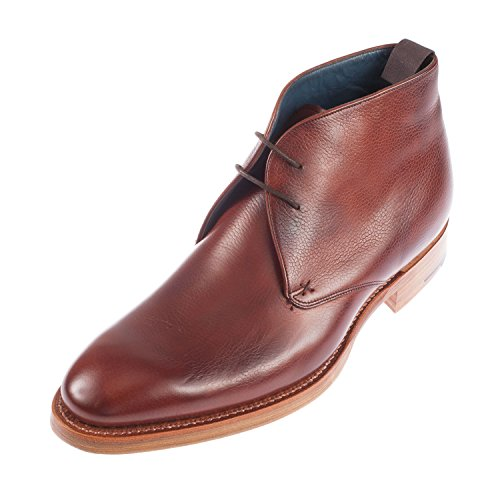 BARKER Men's Cromwell G Fitting Lace Up Leather Chukka Boot (413437)