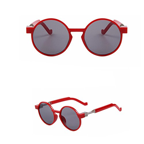 2015 New Fashion Round Unique Flat Coating Lens Women Sunglasses Men Brand Designer Vintage Sun Glasses Uv400 - Bandz Ray