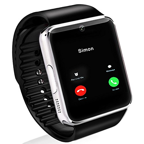 yitamotor gt08 touch screen bluetooth smart wrist watch call reminder phone mate for. Black Bedroom Furniture Sets. Home Design Ideas