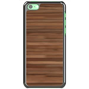 Apple iPhone 5C Cases Customized Gifts Of 3D Graphics Wood Pattern 3d Abstract Black
