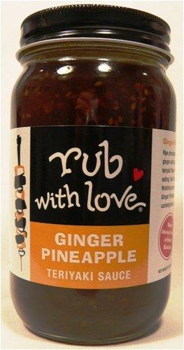 - Rub with Love Ginger Pineapple Teriyaki Sauce By Tom Douglas, 16 Ounce