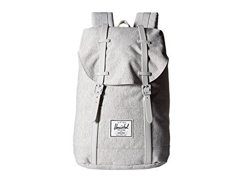 Herschel Retreat Backpack, Light Crosshatch/Grey Rubber, One Size