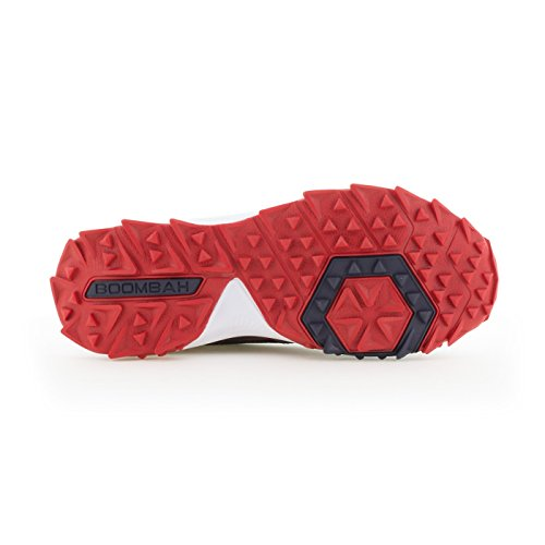 Scarpe Turf Da Uomo Turbo Boombah - 20 Opzioni Di Colore - Più Taglie Navy / Rosso