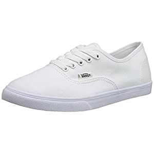 Vans Classic Authentic Lo Pro Womens Trainers Sneakers (8.5 B(M) US Women / 7 D(M) US Men, True White / True White)