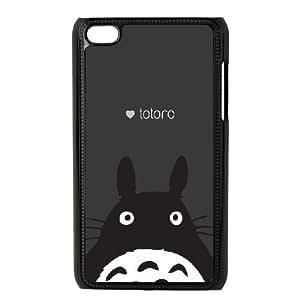 Totoro iPod Touch 4 Case Black Delicate gift JIS_383028