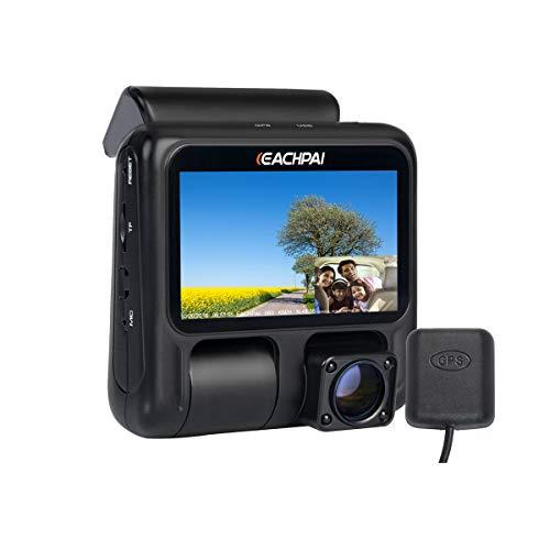 Dual Dash Cam,1080P Pro Uber/Lyft Car Dashboard...