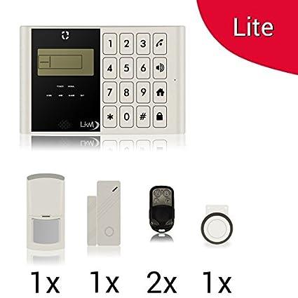 Kit Lite M2 C Antirrobo Alarma Casa LKM Security Kit ...