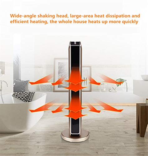 Electric Ceramic Space Heater Remote Control Temperature